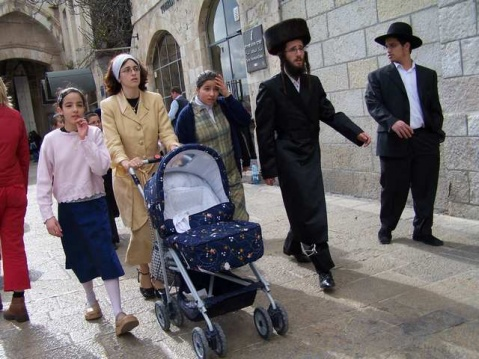 Jerusalem Photographer Marcel Apperloo Orthodox Jewish Family