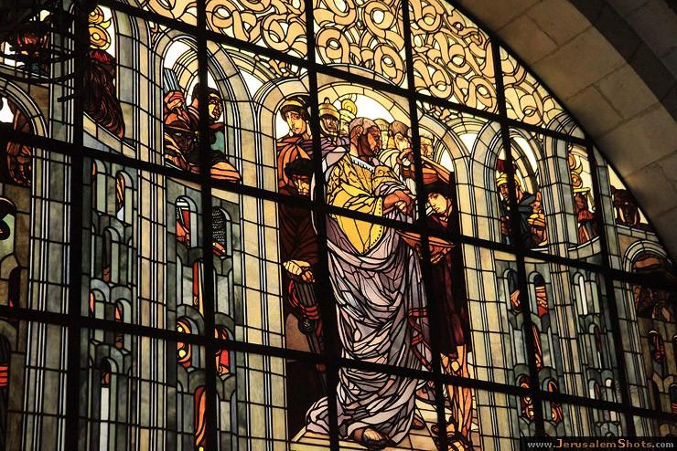 Церковь Бичевания (римско-католическая) Вторая остановка - Виа Делароза