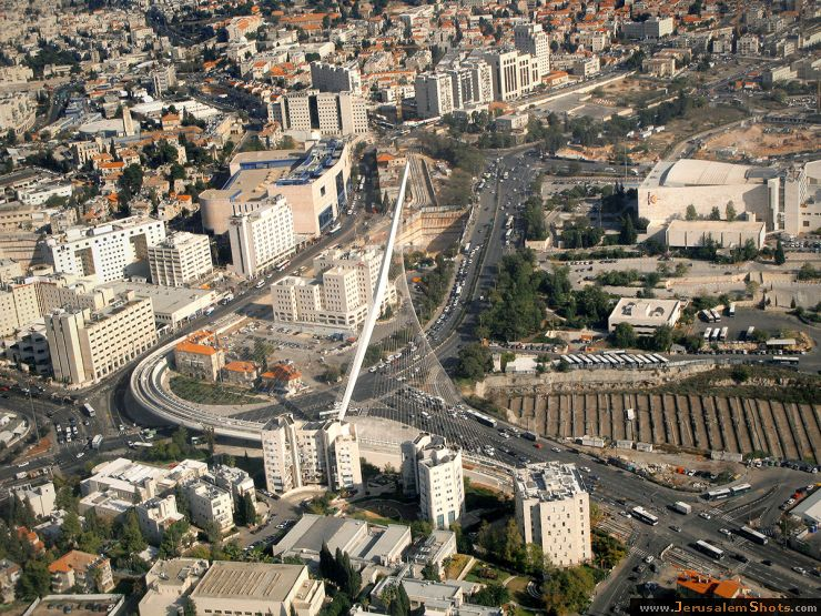 Иерусалим с птичьего полета