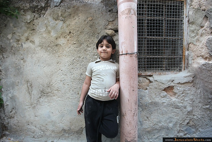 The Boy in the Muslim Quarter of Old City
