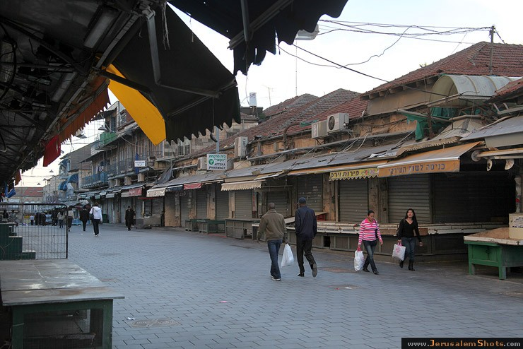 Shuk is closed on shabbat