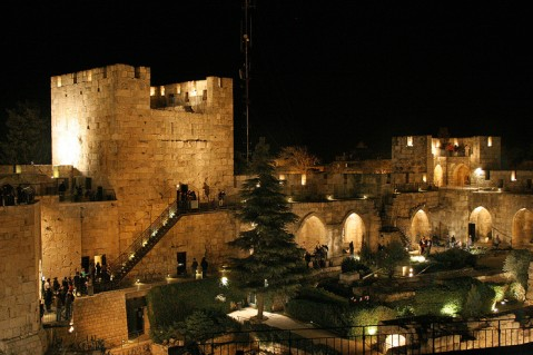 ���� ������ ���� ����� ����� The_Tower_of_David11