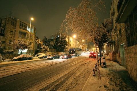 Jerusalem snow 10