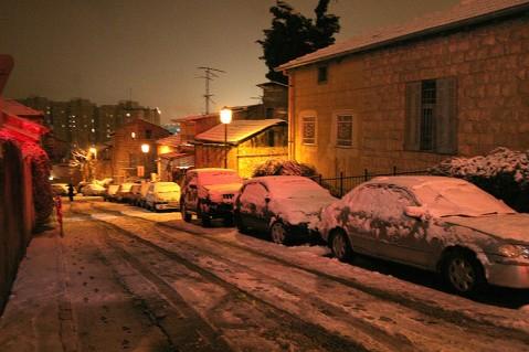 Jerusalem snow 6