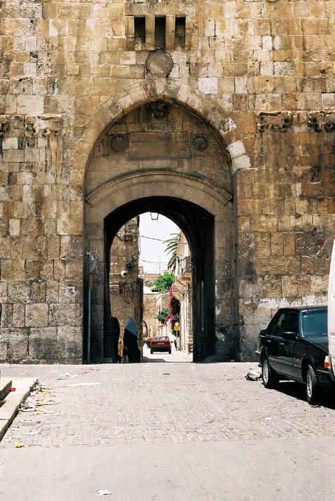 Jerusalem Photos :: Old City Walls and Gates : Lions Gate