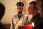 Armenian prayer in Holy Sepulcher