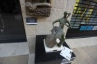 Exhibition of sculptures in the area Mamila