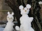 Snow rabbits