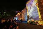 Light Show on Old City walls