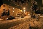 Bezalel street at snow 28.12.2006