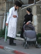 couple in Mea shearim