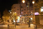 Ben Yehuda Street at night