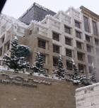 Snow in City