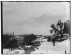 Snow in Jerusalem, 1921