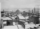 Jerusalem during a snowy winter 1936
