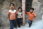 Children in the Muslim quarter of Old City