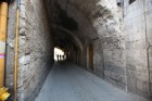 Narrow tunnel in the Armenian Quarter