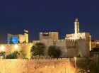 Light Show at the Museum Tower of David