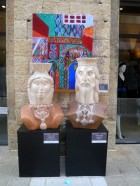 Sculptures in Mamila